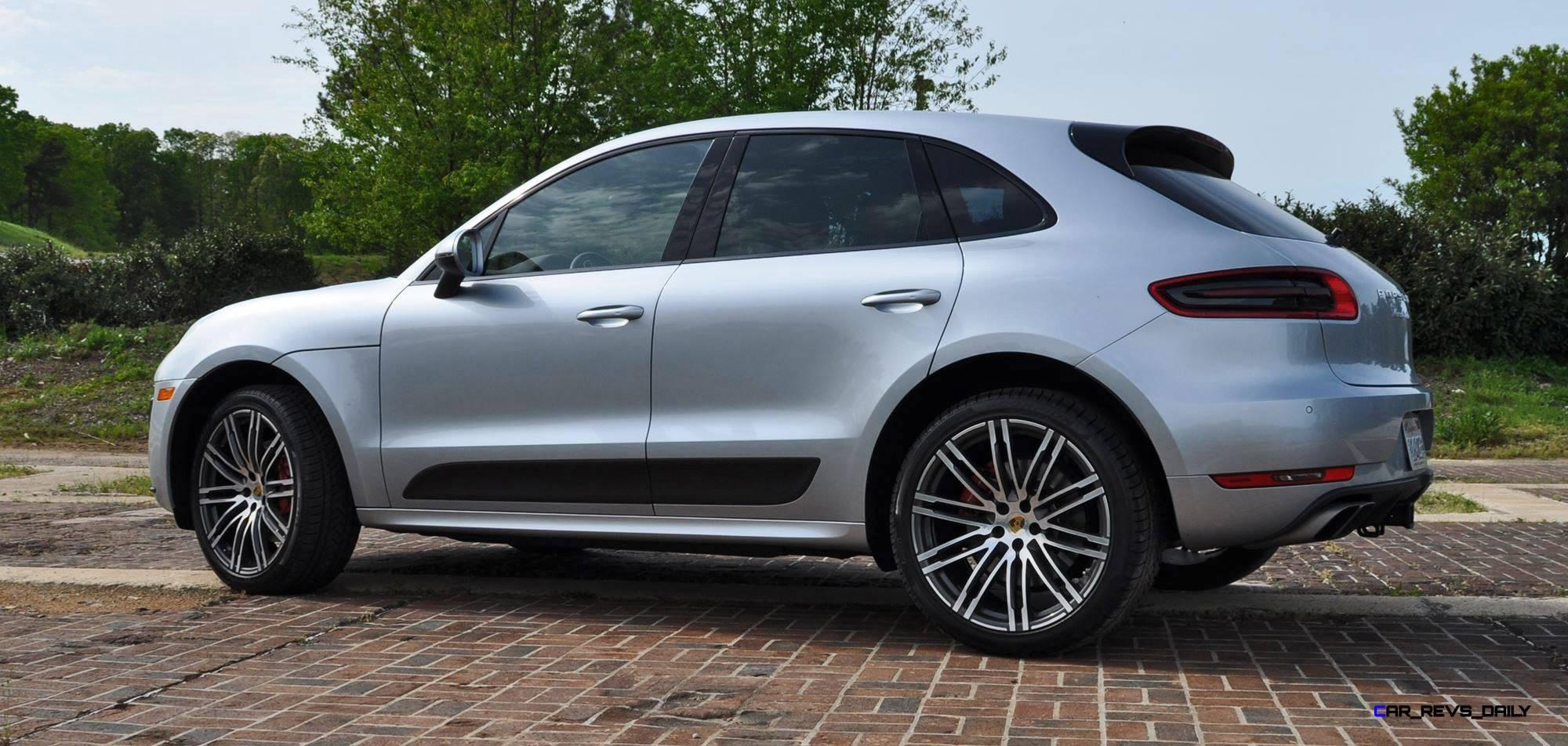 Creative 2015 Porsche MACAN TURBO Review