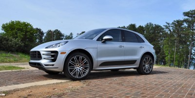 2015 Porsche MACAN TURBO Review Photos 68