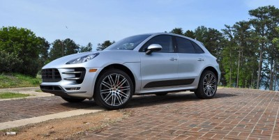 2015 Porsche MACAN TURBO Review Photos 69