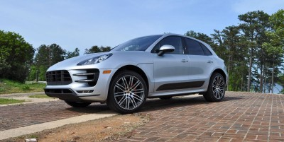 2015 Porsche MACAN TURBO Review Photos 70