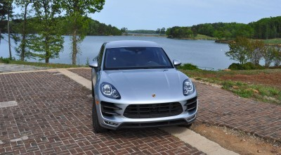 2015 Porsche MACAN TURBO Review Photos 73