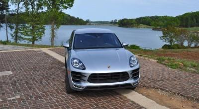 2015 Porsche MACAN TURBO Review Photos 73
