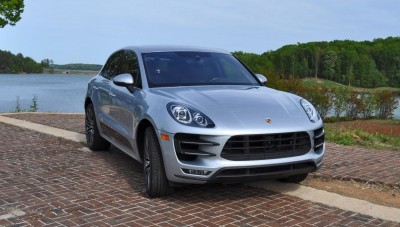 2015 Porsche MACAN TURBO Review Photos 75