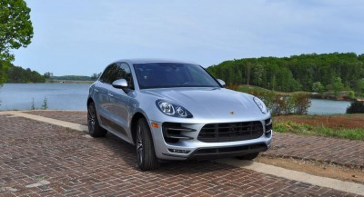 2015 Porsche MACAN TURBO Review Photos 76