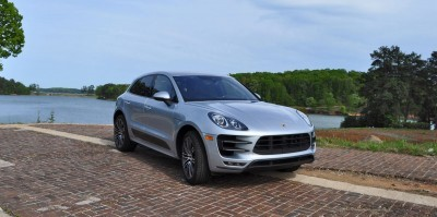 2015 Porsche MACAN TURBO Review Photos 78