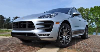 2015 Porsche MACAN TURBO Review Photos 79