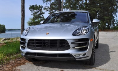 2015 Porsche MACAN TURBO Review Photos 8