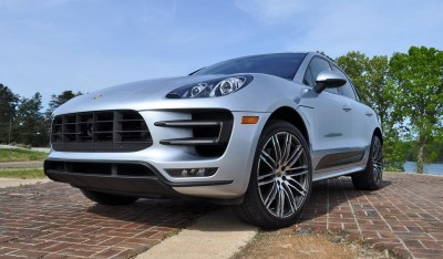 2015 Porsche MACAN TURBO Review Photos 80