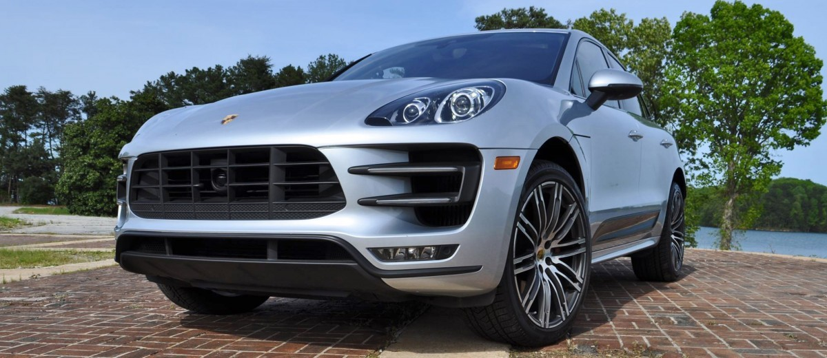 2015 Porsche MACAN TURBO Review Photos 81