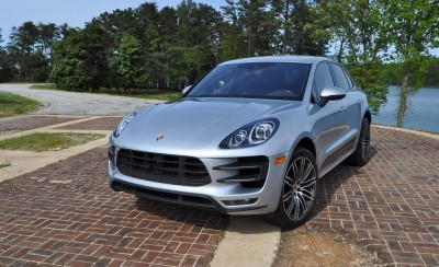 2015 Porsche MACAN TURBO Review Photos 83