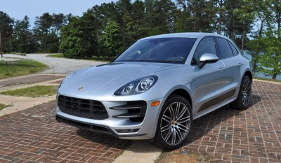 2015 Porsche MACAN TURBO Review Photos 85