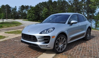 2015 Porsche MACAN TURBO Review Photos 86
