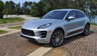 2015 Porsche MACAN TURBO Review Photos 87