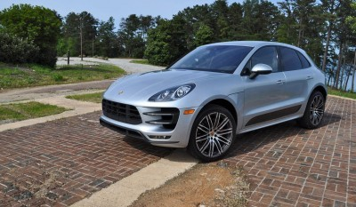 2015 Porsche MACAN TURBO Review Photos 89