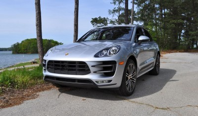 2015 Porsche MACAN TURBO Review Photos 9