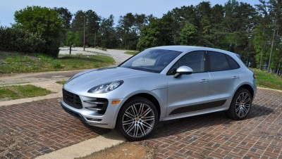 2015 Porsche MACAN TURBO Review Photos 90
