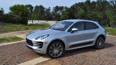 2015 Porsche MACAN TURBO Review Photos 91