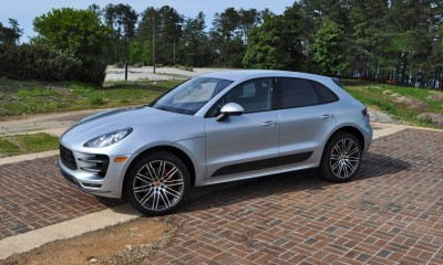 2015 Porsche MACAN TURBO Review Photos 92