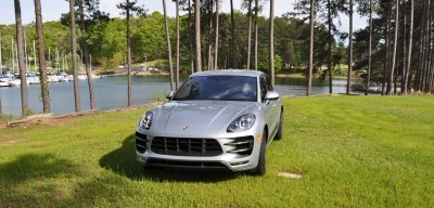 2015 Porsche Macan Turbo Review 112