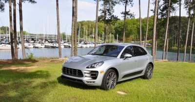 2015 Porsche Macan Turbo Review 116