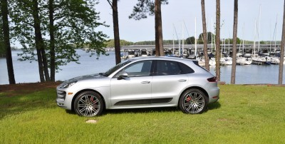 2015 Porsche Macan Turbo Review 122