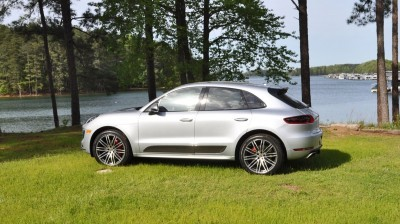 2015 Porsche Macan Turbo Review 126
