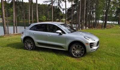 2015 Porsche Macan Turbo Review 139