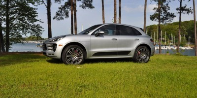 2015 Porsche Macan Turbo Review 62