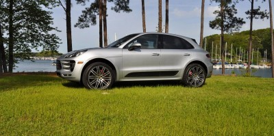 2015 Porsche Macan Turbo Review 63