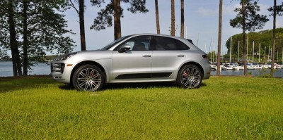 2015 Porsche Macan Turbo Review 68