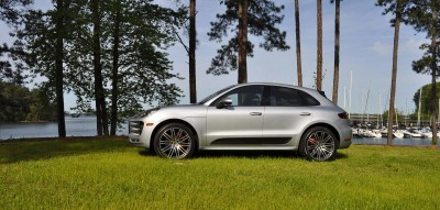 2015 Porsche Macan Turbo Review 73
