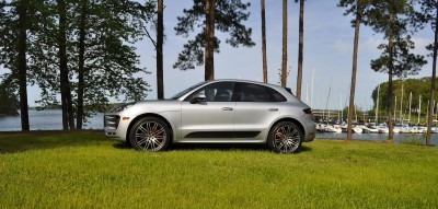 2015 Porsche Macan Turbo Review 76