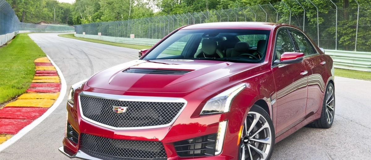 2016 Cadillac CTS-V Sedan