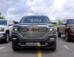 2016 GMC SIERRA Reveals Facelift + LED Lighting Upgrade in SLT, Denali and All Terrain Trims