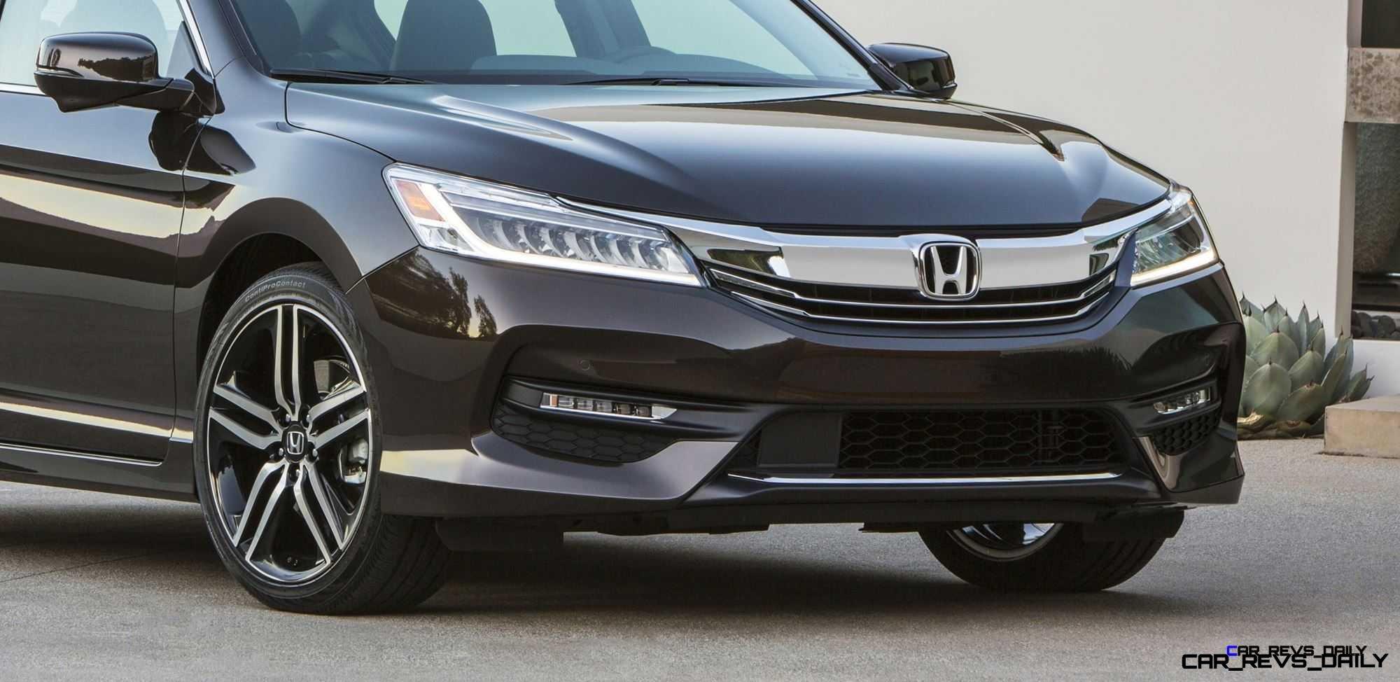 2016 Honda Accord Bringing Tech-Tastic LED and Infotainment Updates