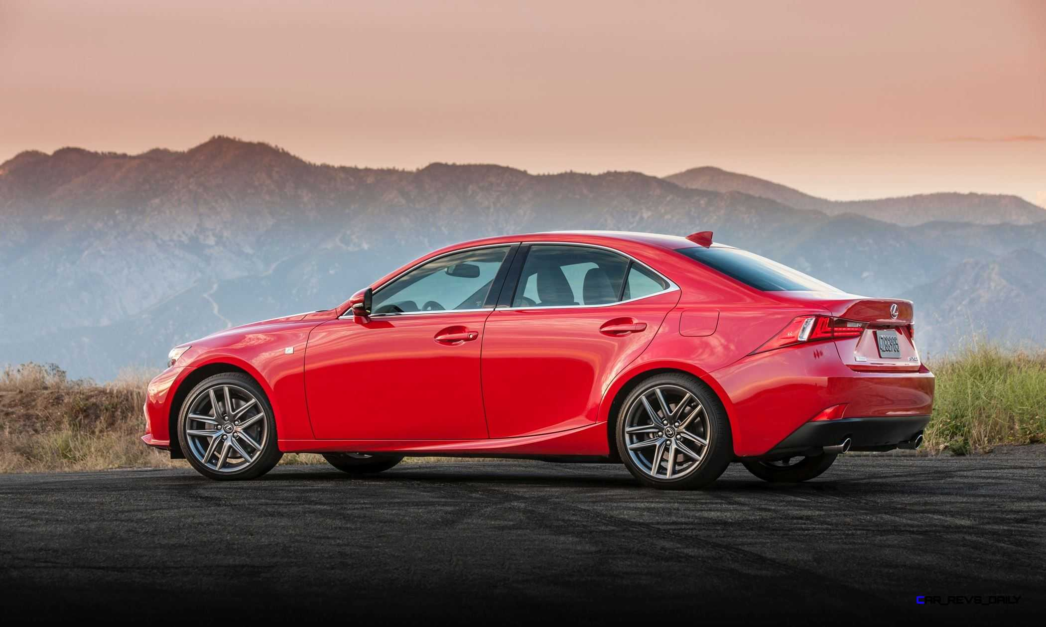 2016 lexus is200t and is300 awd join refreshed range with. Black Bedroom Furniture Sets. Home Design Ideas