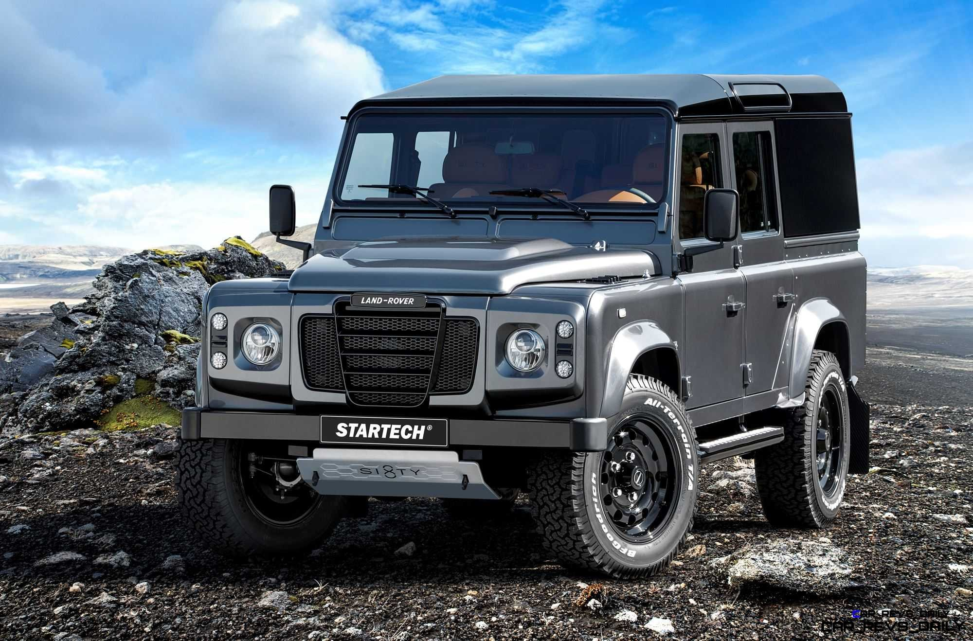 BRABUS STARTECH SIXTY8 Is Land Rover Defender 110 Sendoff Special