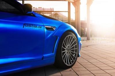 Blue Silk FOSTLA