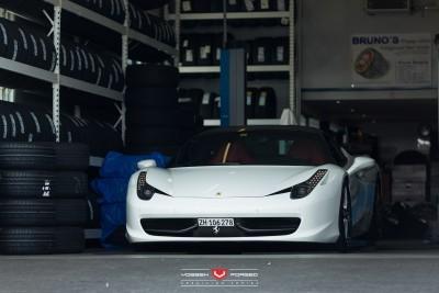 Ferrari 458 Italia - Vossen Forged Precision Series VPS-306 -_18090294794_o