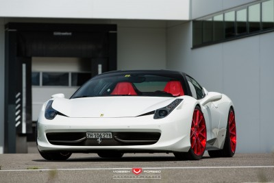 Ferrari 458 Italia - Vossen Forged Precision Series VPS-306 -_18526726169_o