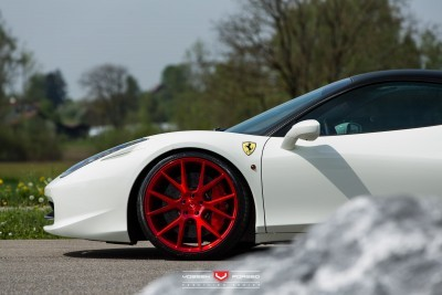 Ferrari 458 Italia - Vossen Forged Precision Series VPS-306 -_18715334821_o