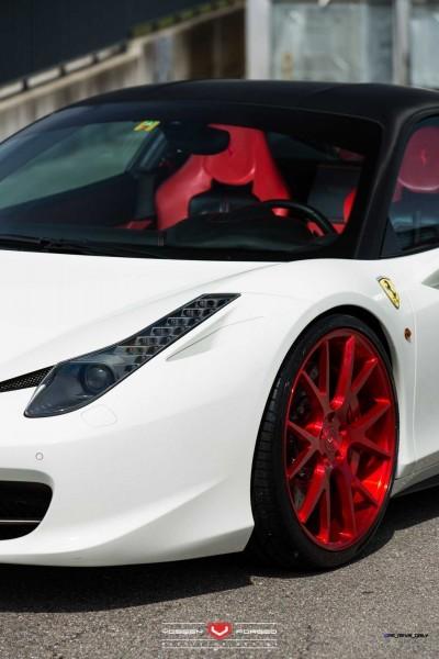 Ferrari 458 Italia - Vossen Forged Precision Series VPS-306 -_18715337371_o