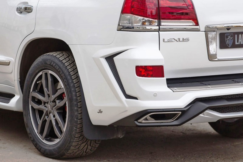 LARTE Design Lexus LX570 Alligator Bodykit White 13