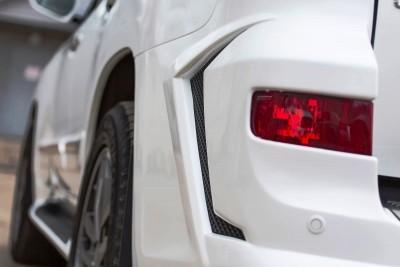 LARTE Design Lexus LX570 Alligator Bodykit White 20