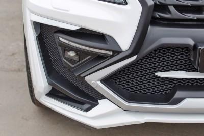 LARTE Design Lexus LX570 Alligator Bodykit White 37