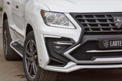 LARTE Design Lexus LX570 Alligator Bodykit White 47