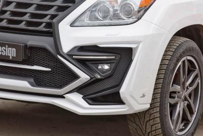 LARTE Design Lexus LX570 Alligator Bodykit White 55