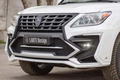 LARTE Design Lexus LX570 Alligator Bodykit White 60