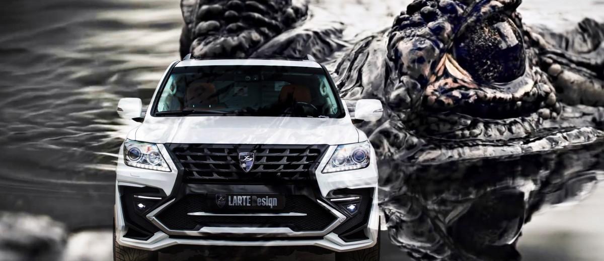 LARTE-Design-Lexus-LX570-Alligator-Bodykit-White-61