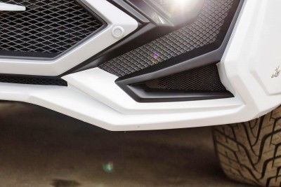 LARTE Design Lexus LX570 Alligator Bodykit White 64